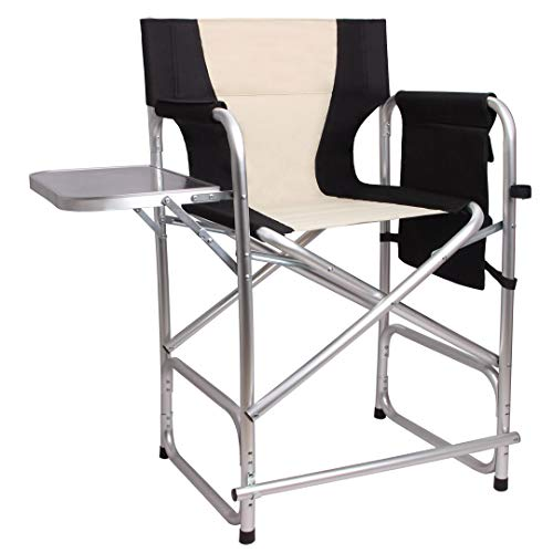 - Tall Directors Chair Folding Camping Chairs- 24