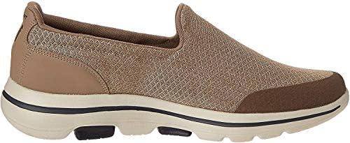 SKECHERS GO WALK 5 Mens Shoes, Brown (Khaki), 6.5 UK (40 EU