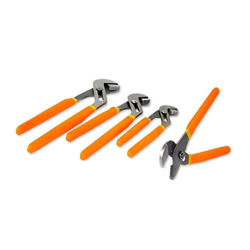 Neiko Tools USA 4 PC Groove Joint Plier Set