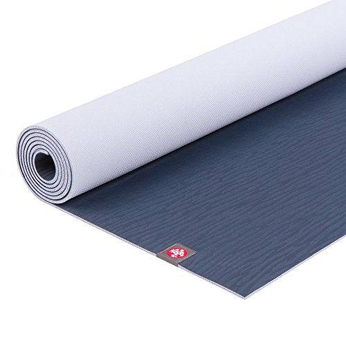 Manduka eKO Yoga Mat - Premium 5mm Thick Mat, Eco Friendly and Made from Natural Tree Rubber.  Ultimate Catch Grip for Superior Traction, Dense Cushioning for Support and Stability in Yoga, Pilates, and General Fitness.