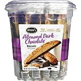Nonni's Almond Dark Chocolate Biscotti with Real Almonds 25ct (2lb)