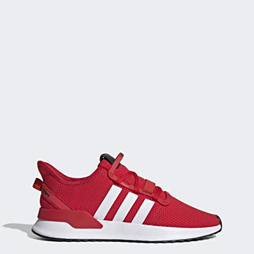 adidas Originals Men's U_Path Running Shoe, Scarlet/White/shock Red, 12 M US