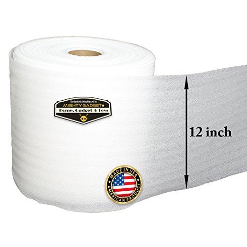 Tape Logic TLFP1824 Flush Cut Foam Pouches Pack of 75 White 18 x 24
