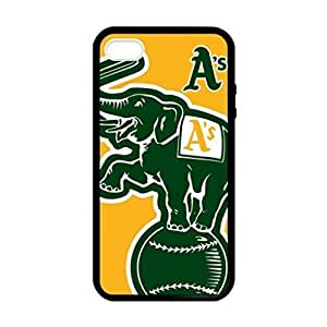 Oakland Athletics Image Protective Iphone 5s / Iphone 5 Case Cover Hard Plastic Case for Iphone 5 5s