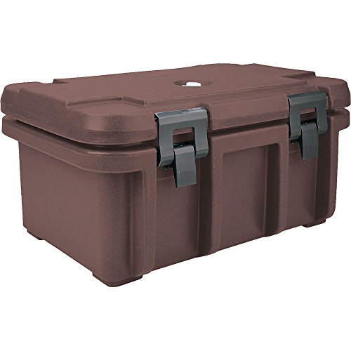 Cambro Insulated Food Carrier for 8'' Deep Pans Dark Brown UPC180-131 by Cambro