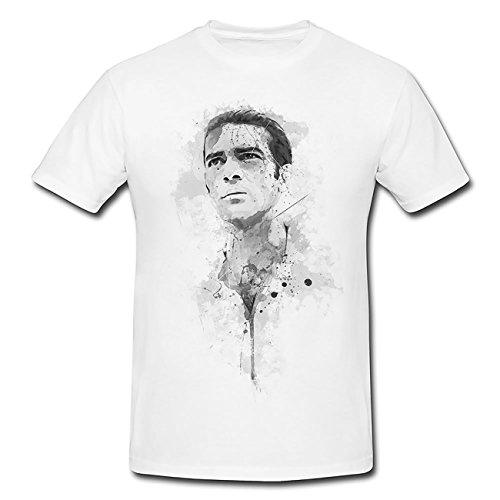 Antonio Banderas T-Shirt Herren, Men mit stylischen Motiv von Paul Sinus