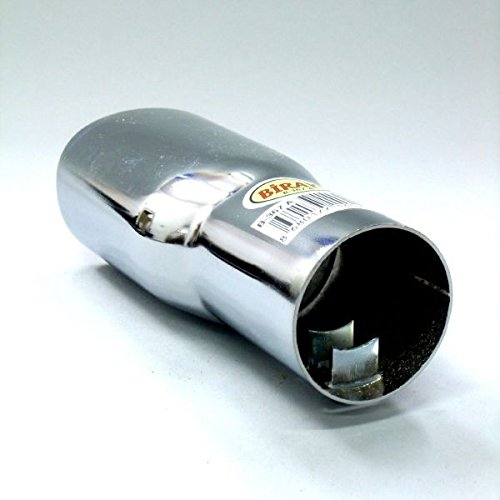 Boloromo 367A Universal Auspuff Blende Endrohr Edelstahl Auspuffblende 38-42mm /Ø Chrom