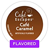 Café Escapes Coffee, Keurig K Cups, Caramel, 24 Count