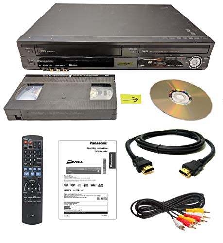 Big Save! Panasonic VHS to DVD Recorder VCR Combo w/ Remote, HDMI