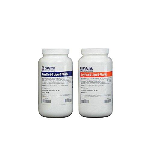 Polytek EasyFlo 60 Liquid Plastic (3 8lbs) - Import It All