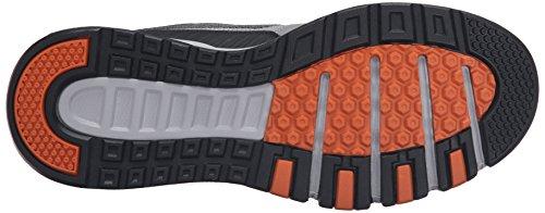 Skechers Kraft Oxford Sneaker Air Sport Herren Grau G Orange BtABwq