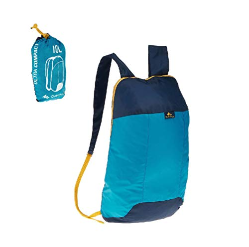 Quechua Decathlon Arpenaz 10 Ultra Compact Hiking Backpack Junior 10Liters (Blue)