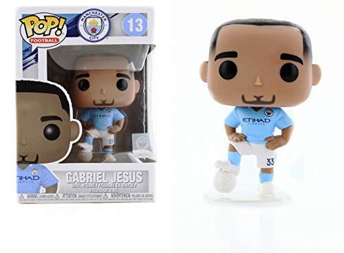 - Football Manchester City Gabriel Jesus Pop! Vinyl Figure