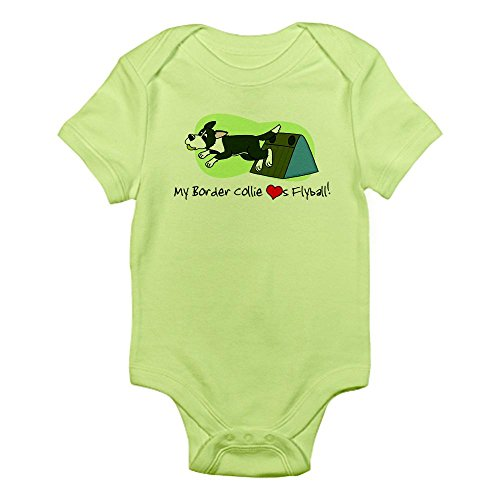 CafePress Border Collie Flyball Bodysuit