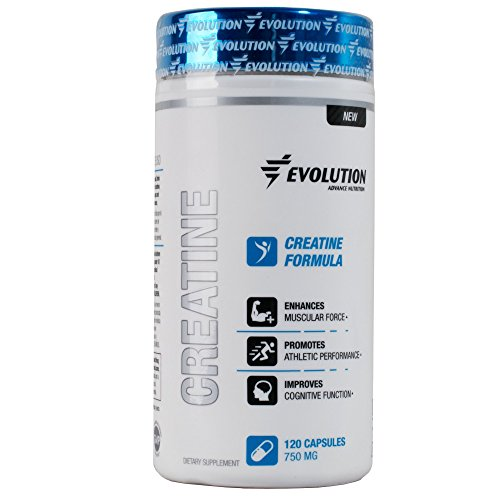 Amazon.com: Evolution Advance Nutrition Pure micronized Creatine Monohydrate capsules (120 vegetarian capsules) dietary supplement 1,500mg per capsule 60 ...