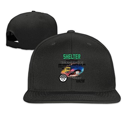 Eye To Eye Shelter Letter Cap Hat Summer Solid Flat Bill Hip Hop Snapback Baseball Cap HAILIN - Houston Optical Stores