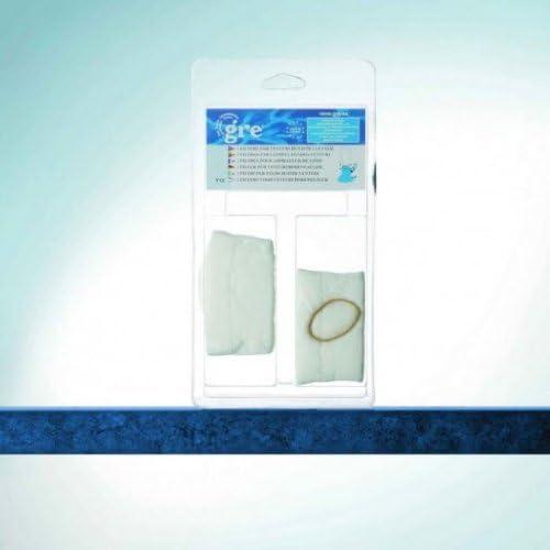 Gre Y12 - Kit de Filtros para Limpiafondos Ventury, 2 Unidades + ...