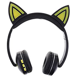 Homyl Active Noise Cancelling Headphones,Superior Deep Bass,for TV/PC/Cellphone/Travel/Work - Yellow