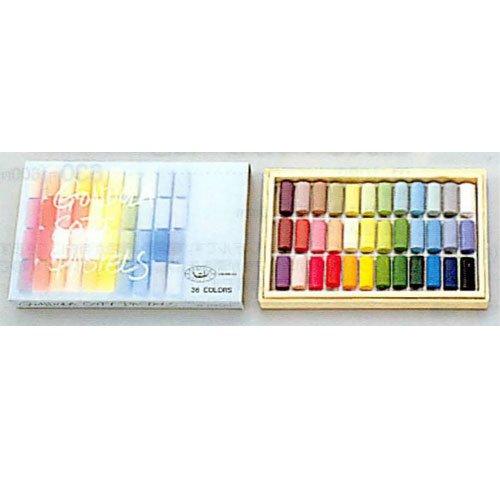 ゴンドラパステル 36色 木箱入 B01-0361
