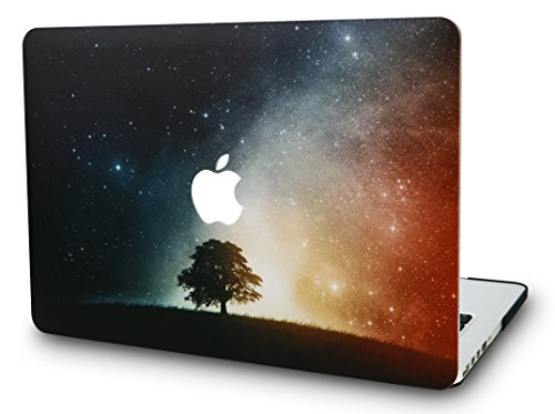 "KEC MacBook Pro 13"" Retina Case (2015) Cover Plastic Hard Shell Rubberized A1502 / A1425 (Lonely Tree)"