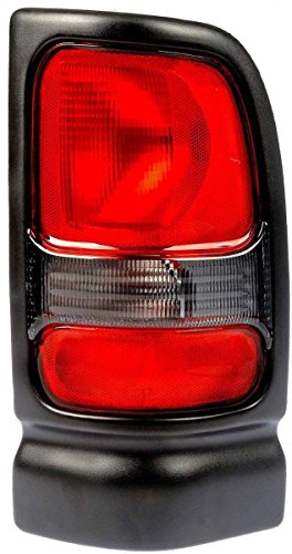 - OE Replacement Dodge Pickup Passenger Side Taillight Assembly (Partslink Number CH2801122)