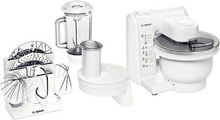 Bosch MUM4830 - Robot de cocina (bol de plástico, 600 W), color blanco: Amazon.es: Hogar