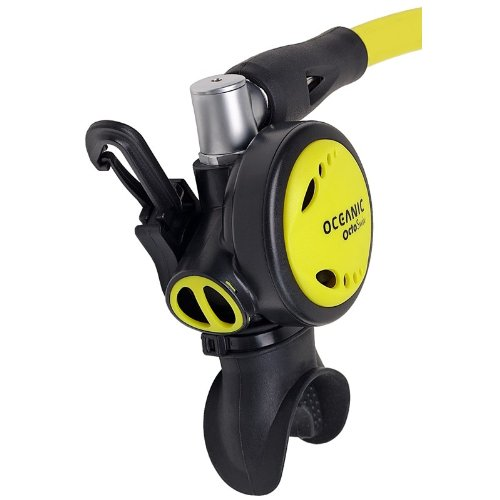Oceanic swivel scuba diving octopus with magnetic keeper - Oceanic dive equipment ...