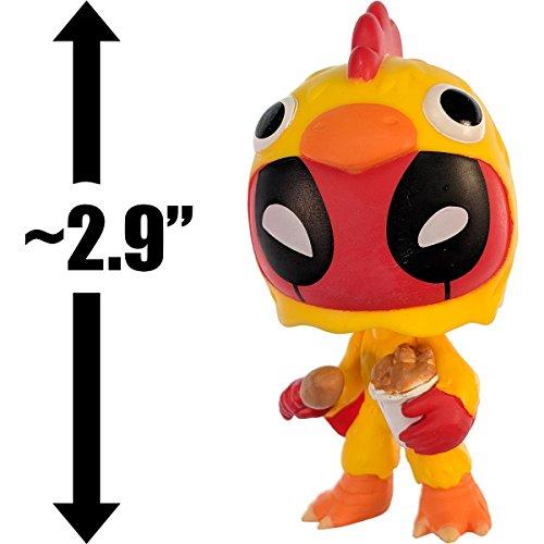 (Funko Deadpool Chicken Costume: ~2.9