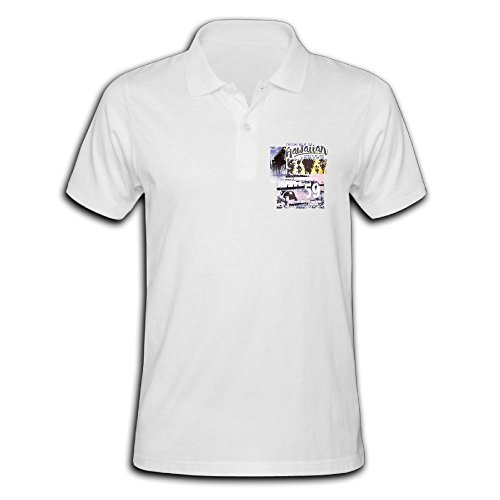 Men's Polo Shirt Short Sleeve With Performance Printing X-Large - Island Performance Kona
