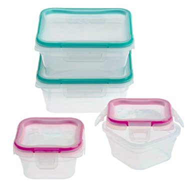 Snapware 8-Piece Total Solution Food Storage Set, Plastic