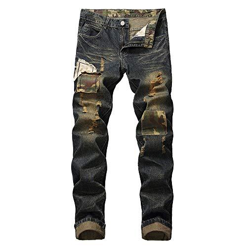 Lookatool Jean Men,Pocket Jeans Men,Regular fit Jeans Men,Relaxed Jeans Men, Ripped Jeans for Men,Slim fit Jean Men,Skinny Jeans for Men,Straight fit Jeans Men 40 Brown