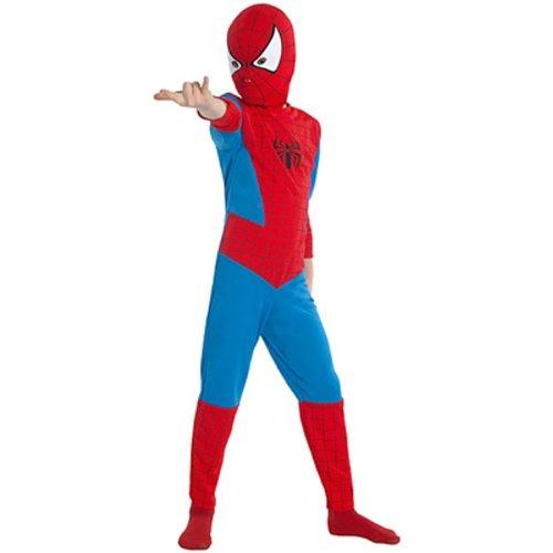 dc0a528c48936 César Industries - I962008 - Déguisement et Imitation - Costume - Spiderman  - 8/10 ans: Amazon.fr: Jeux et Jouets