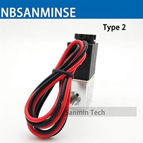 Amazon.com: Utini 2V025 Válvula electroválvula neumática ...