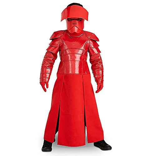 Star Wars Deluxe Praetorian Guard Costume for Kids The Last Jedi Red