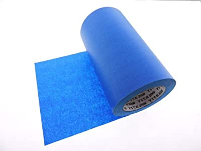 """1 Roll 8"""" inch WIDE 3D Printing Made In USA PRO Grade Blue Painters Tape Masking Clean Release Easy Removal NO RESIDUE (192MM x 55M 7.7 inch). 3D Printer bed grip deck cover 3D Prints Removal 60 Yd"""