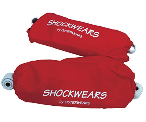 Outerwears Shockwears Shock Cover - Rear/Red ()