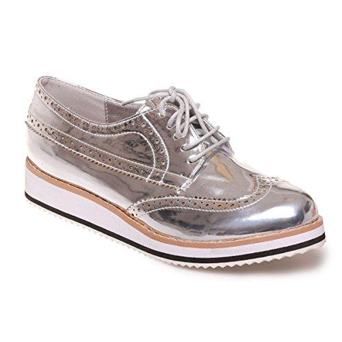 Plata Para Cordones De Mujer Modeuse La Zapatos vzwffa