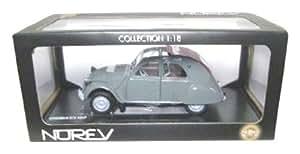 1958 Citroen 2CV AZLP [Norev 181509], Gris, 1:18 Die Cast