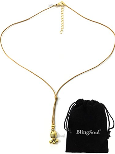 Lefou Costume (Emma Watson Belle Lariat Necklace - Beauty and the Beast jewelry for girls)