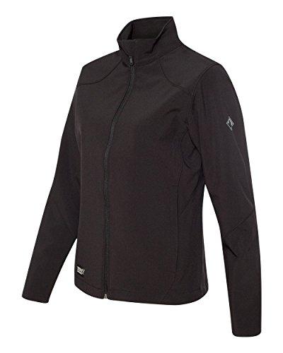 - DRI Duck Women's 9471 Intensity Waterproof Teflon DDX Soft Shell Jacket (Medium, Black)