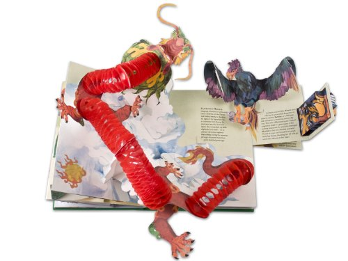 Encyclopedia Mythologica: Dragons and Monsters Pop-Up by Candlewick Press (Image #1)