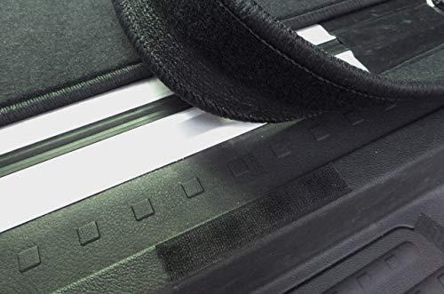 Zerbino in Velluto autix 300056820569 per VW T6 California Beach Colore: Nero