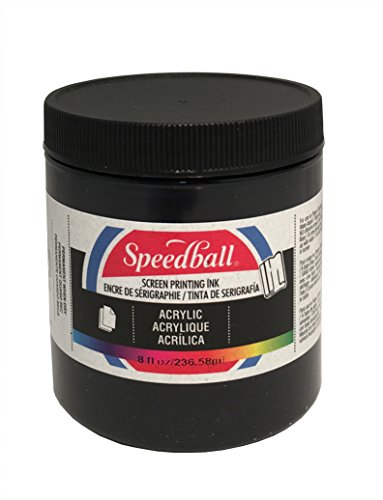 (Speedball bl Acrylic Screen Printing Ink, 8 fl. oz,)