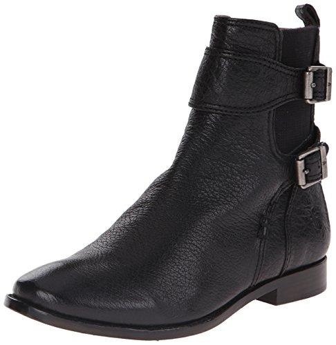 Black para Frye corto de Botas mujeres Piel las búfalo de 74651 Anna Gore xAwS1aPUnq