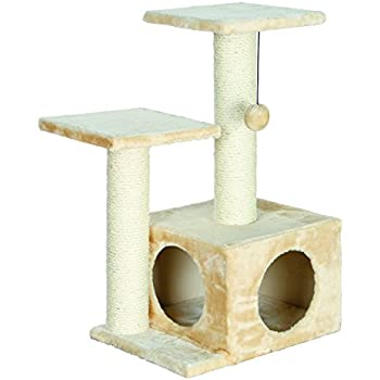 60c5a043dc89 Amazon.com : TRIXIE Pet Products Oviedo Cat Tree, Dark Gray : Cat ...