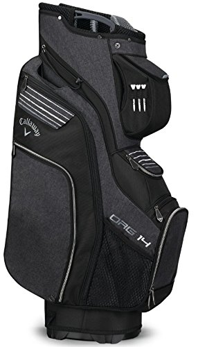 Callaway Golf 2018 Org 14 Cart Bag, Black/Silver/White by Callaway (Image #3)