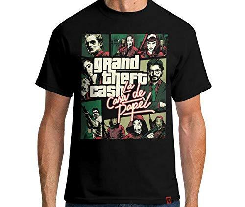Camiseta Grand Theft Cash Cor:preto;tamanho:m