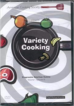 American cooking society presents variety cooking for American cuisine dvd