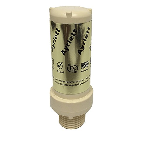Ayrlett AA45-CPM Loose Water Hammer Arrester with CPVC Connection, 1/2