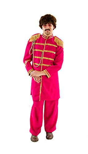 [HouseHaunters Lonely Hearts Club Costume, Red, One Size] (Sgt Pepper Paul Costume)